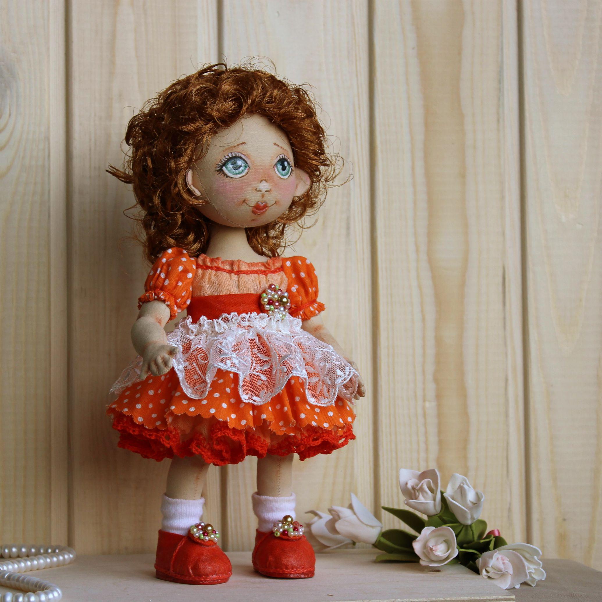 подарок красивая работа ручная кукла куклы