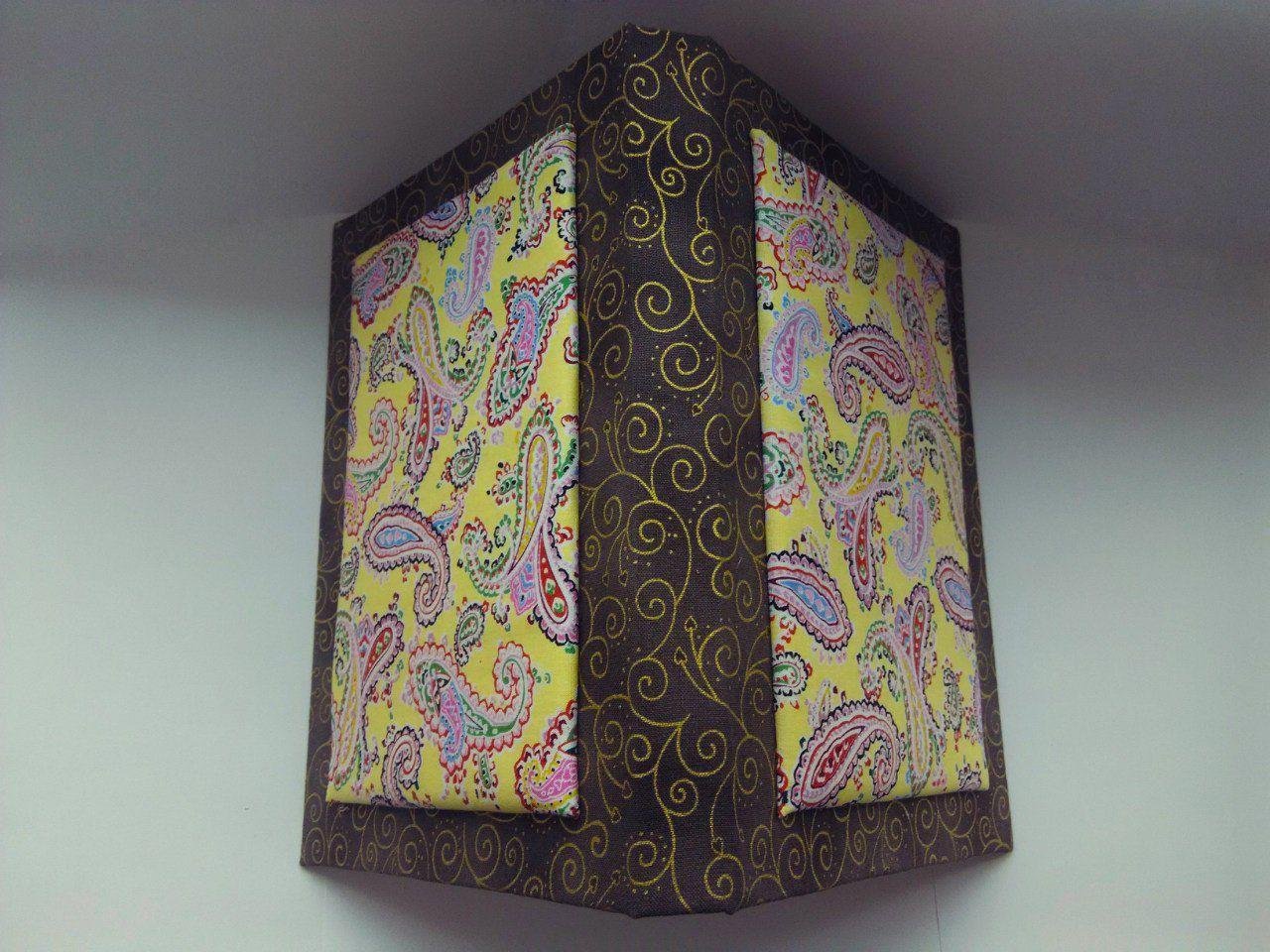 блокнот золотойорнамент состаренныелисты желтыепейсли тканевыйблокнот мягкаяобложка ручнаяработы