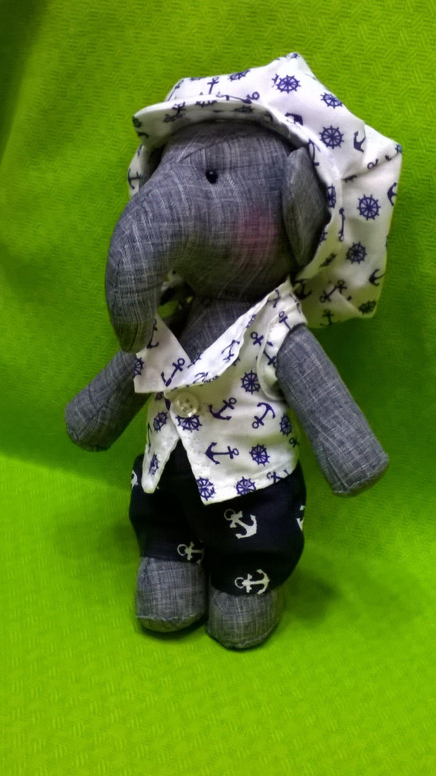 работы 8 ручной морячок февраля 23 моряк игрушка кукла интерьерная рождения день слоненок на слон марта подарок