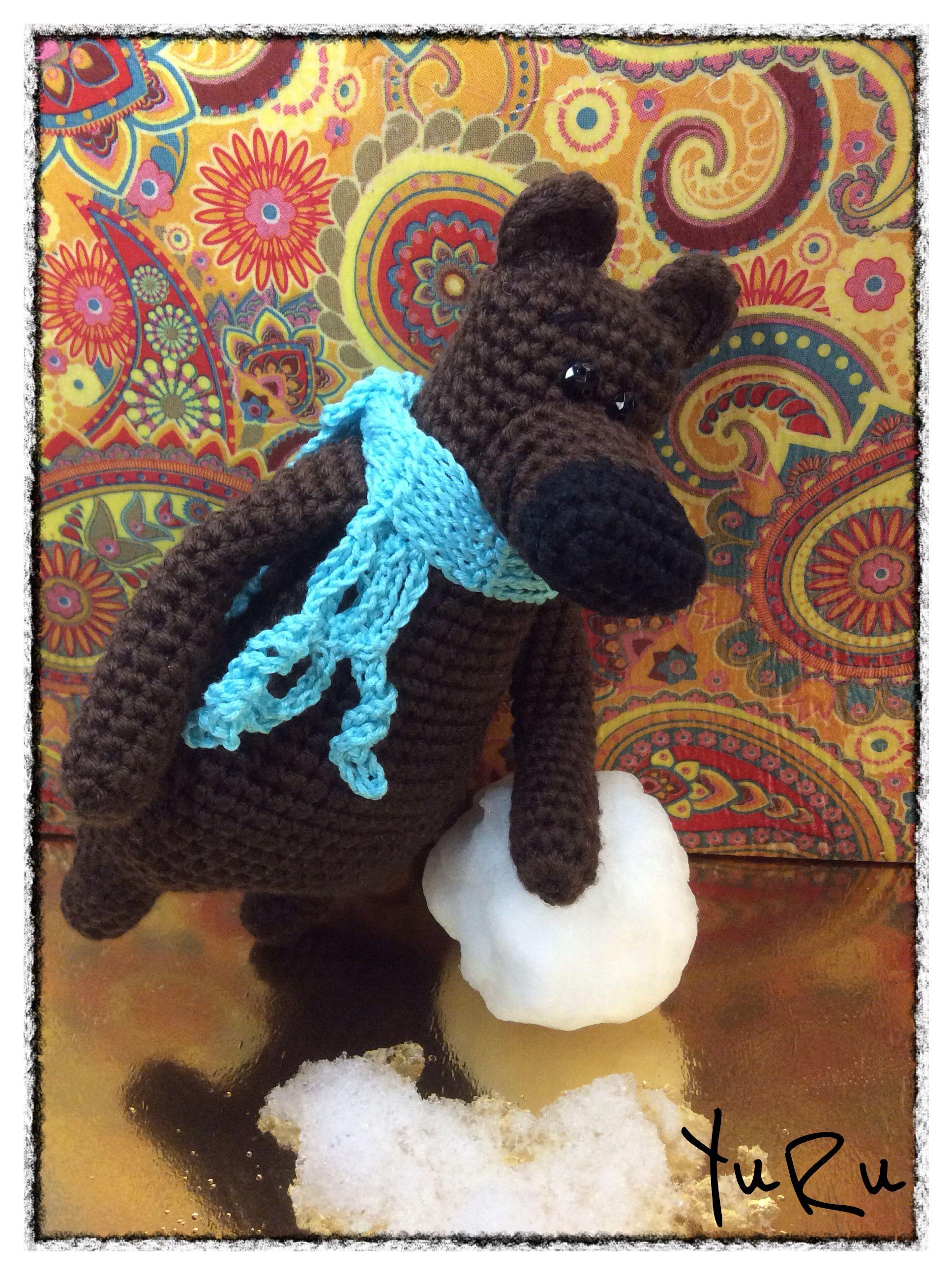 медведь игрушка мишка крючком хендмейд медвежонок
