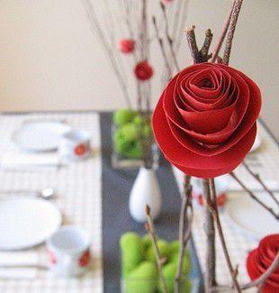 Розы из бумаги своими руками 6