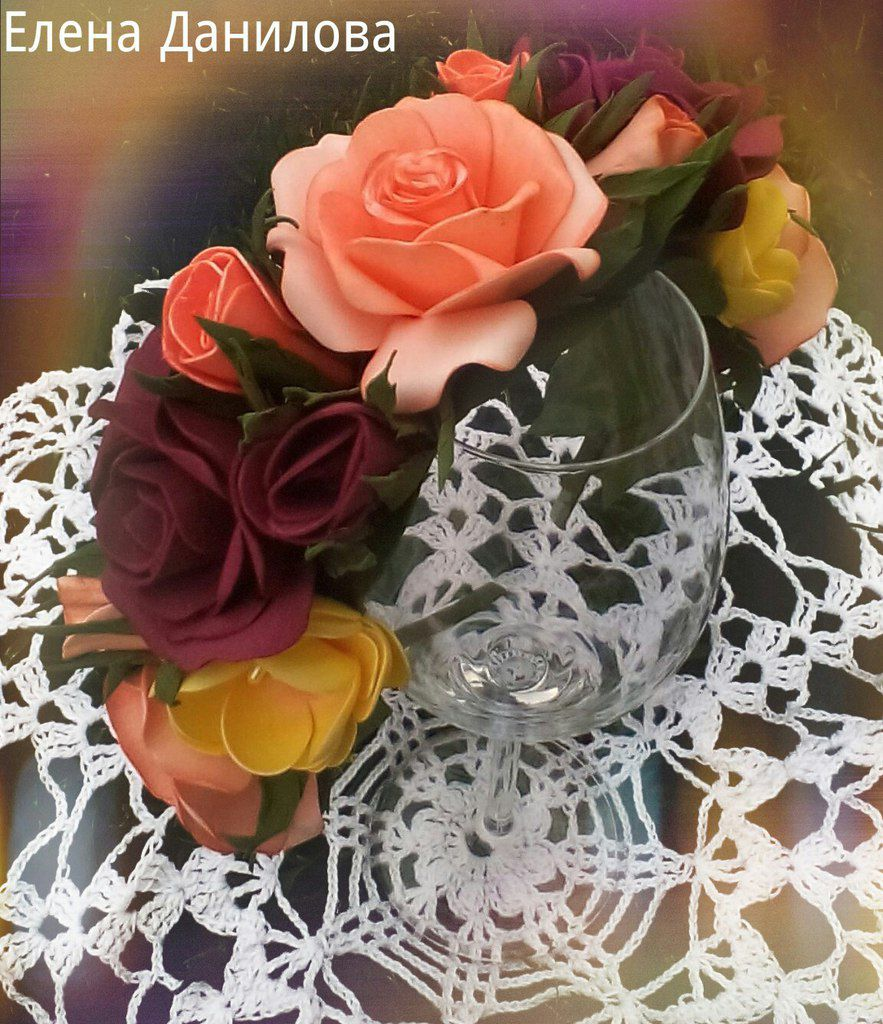 волос цветами цветочный украшения аксессуары ободок для с
