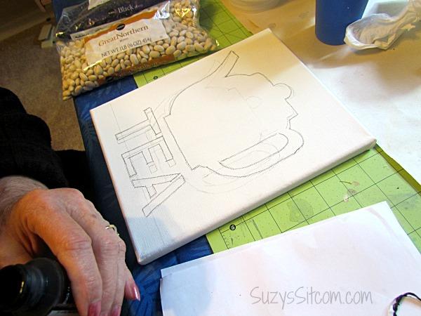 руками сам из фасоль картина дома фасоли для сделай идеи своими