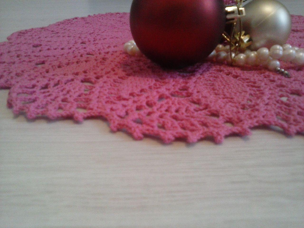 вязание крючок салфетка декор заказ