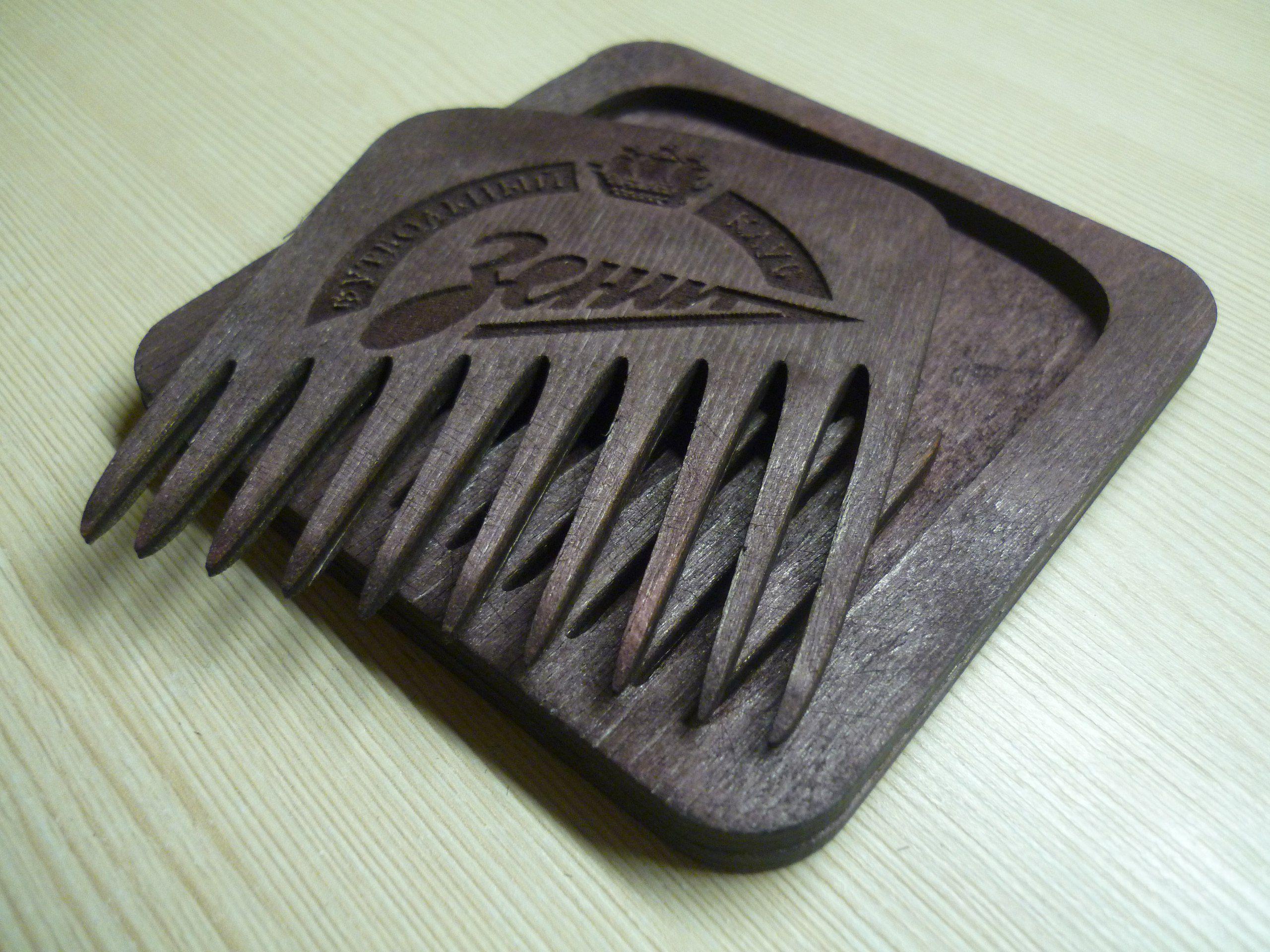 мужчинеподарок бородач бородачу гребеньдлябороды издерева гребень борода
