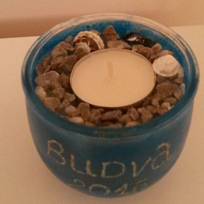 будва сувениры свеча подарок