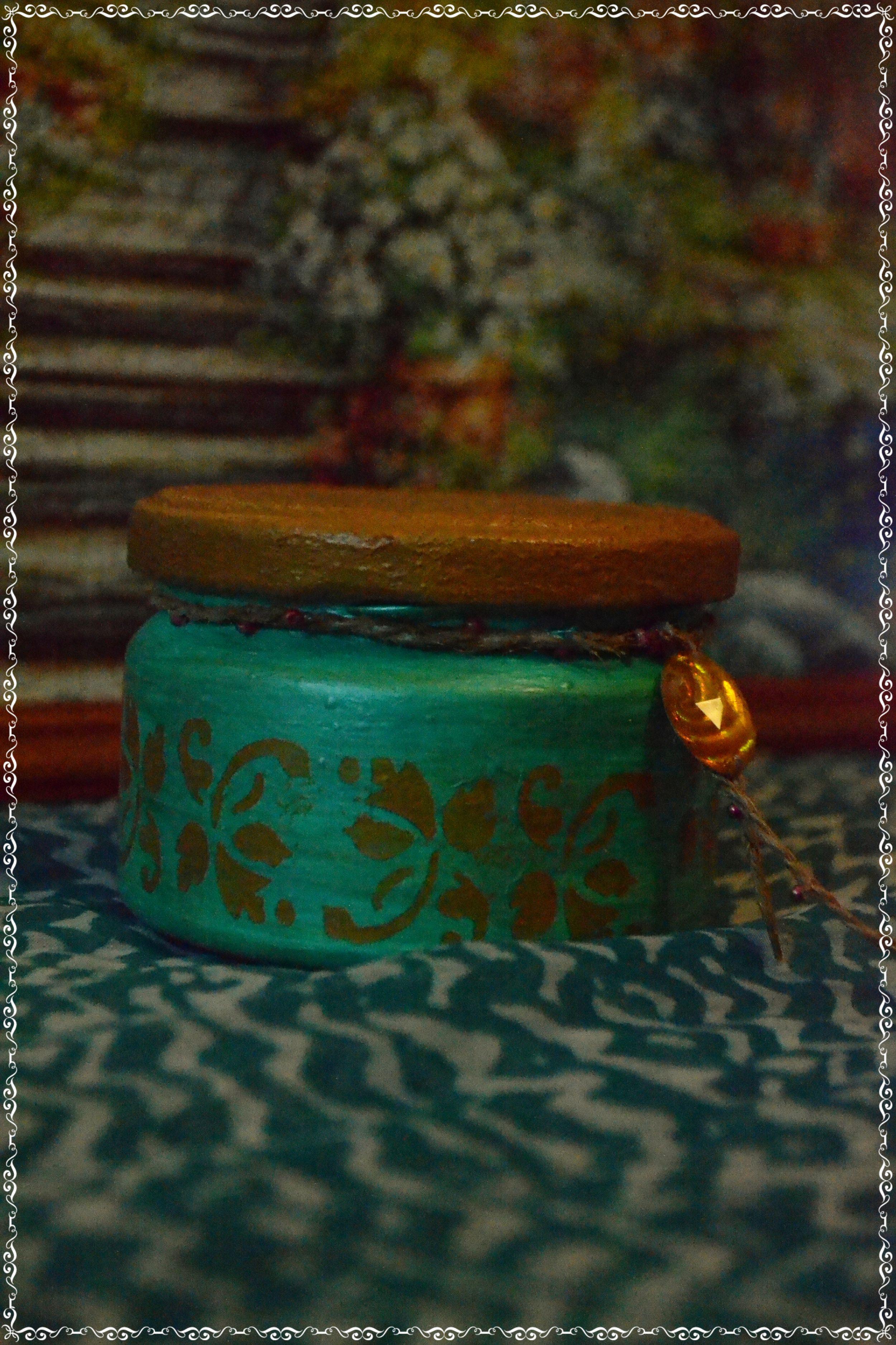 8 марта баночка маме восточный дляспеций кухня интерьер узор подарок