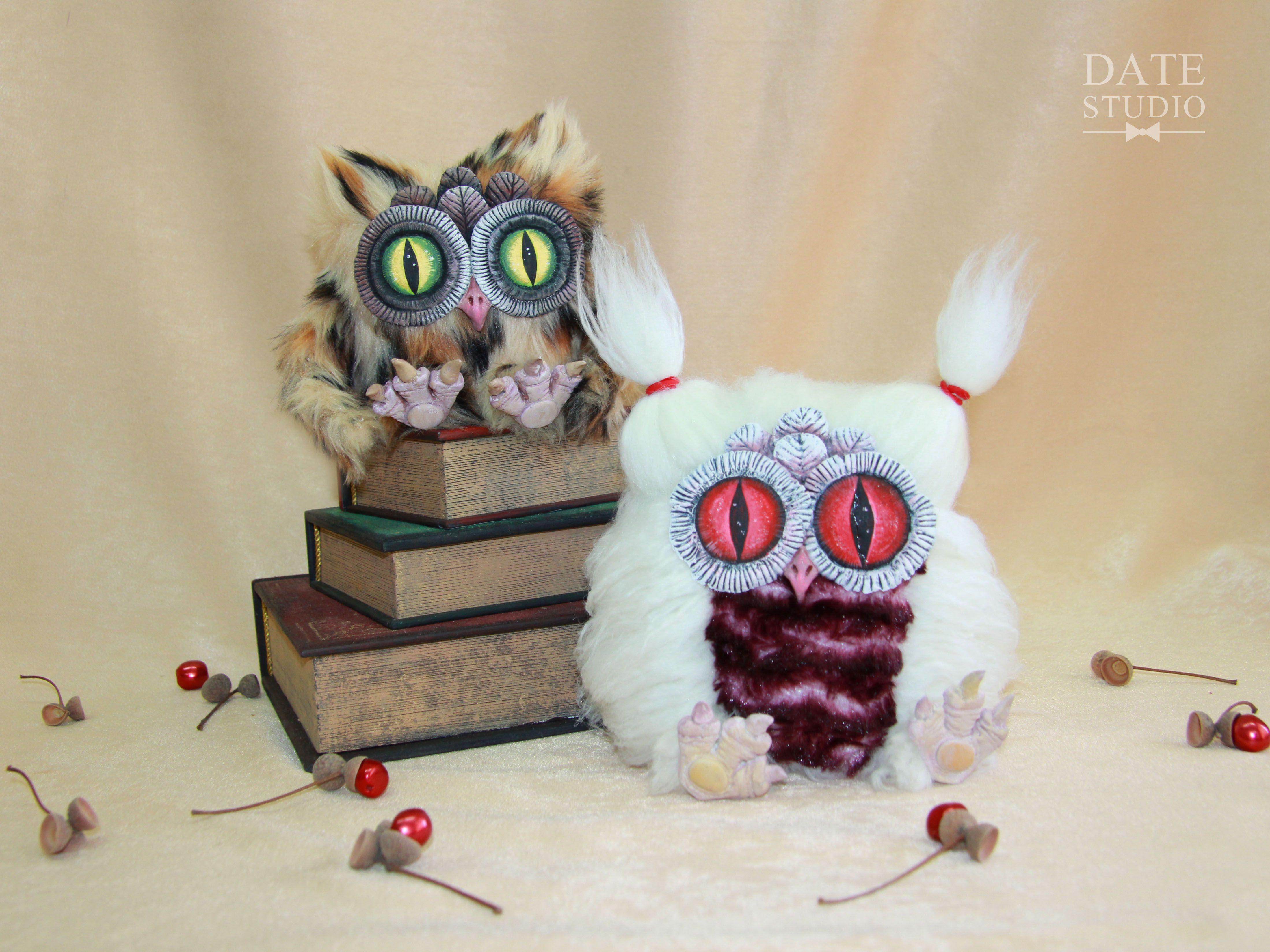ручнаяработа подарок сова handmade игрушка