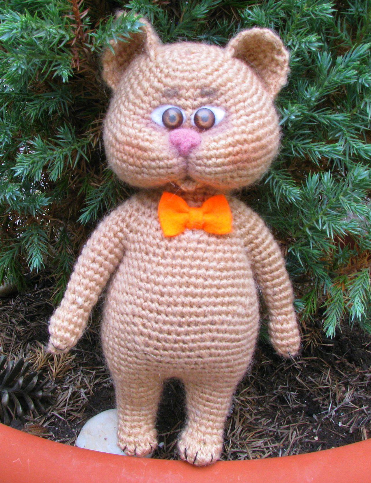 амигуруми игрушка подарок котик