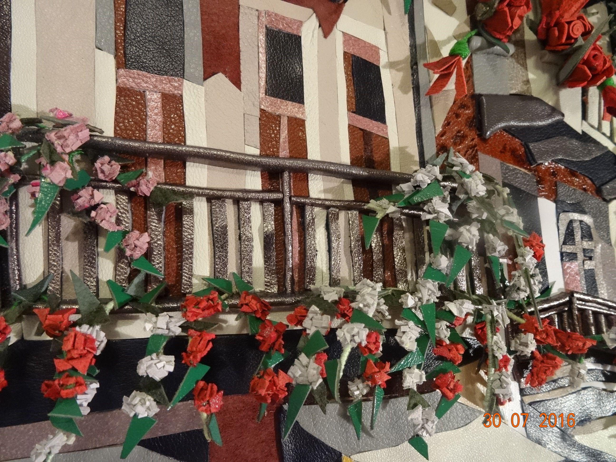 картинаизкожи мозаикаизкожи италия картины пейзаж