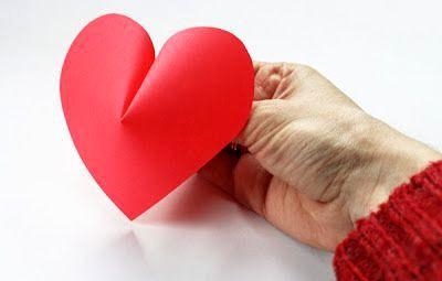 Сердечки из бумаги 5