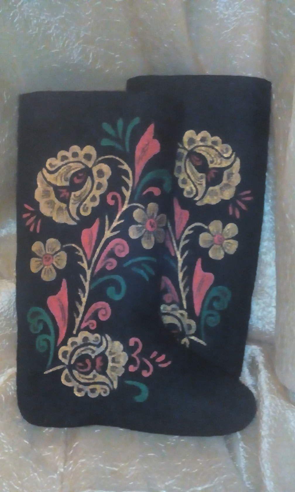 валенкитепло рисунок краски
