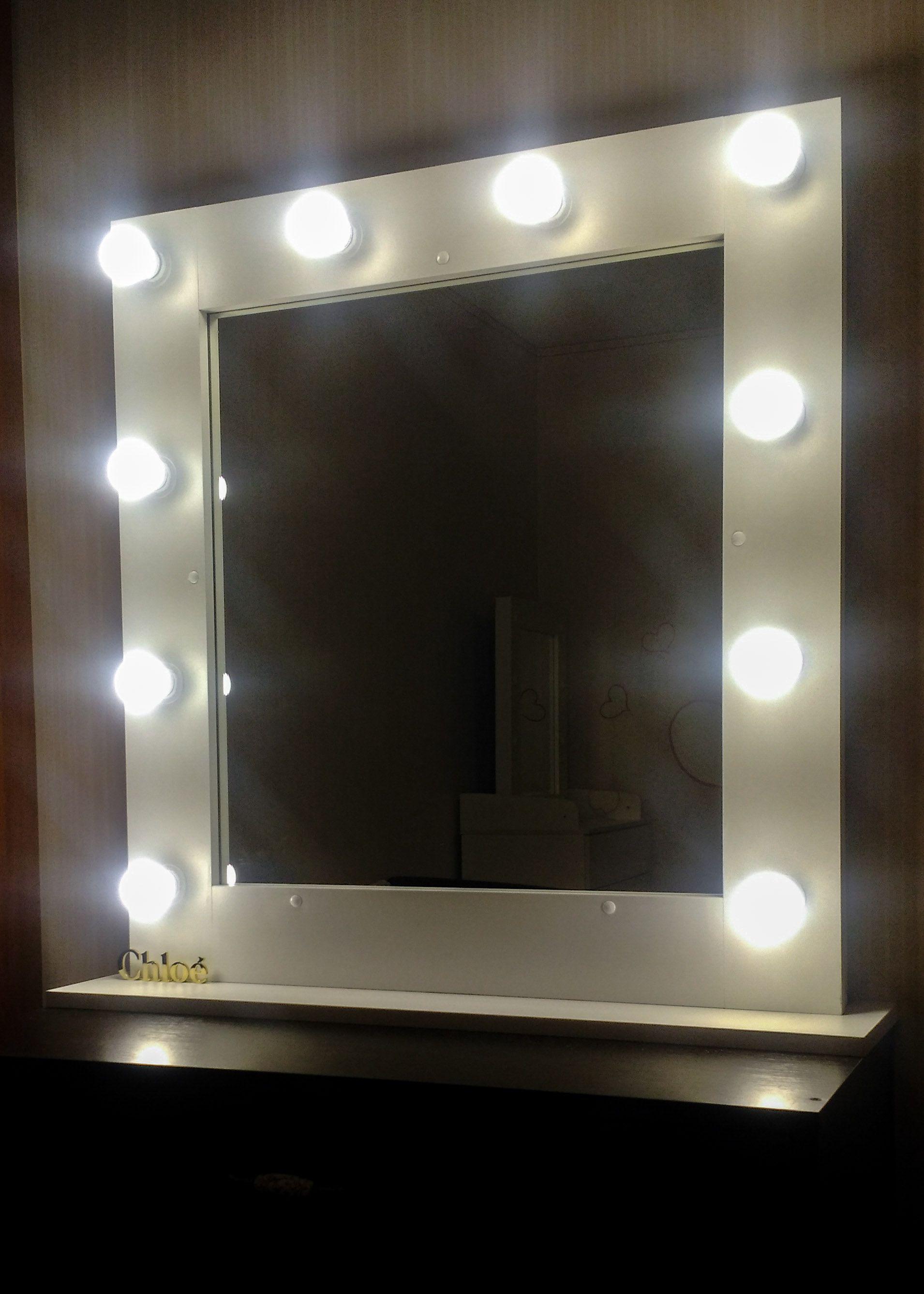 мебель селфизеркало гримерноезеркало зеркалосподсветкой зеркаловизажиста гримерныйстол интерьер подарок