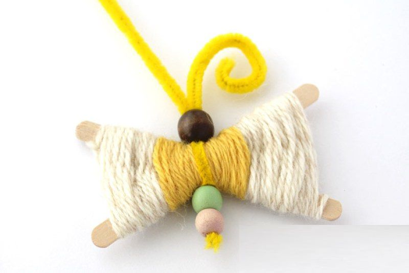 игрушки бабочки поделки руками своими дети