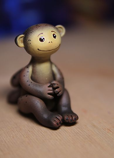 обезьяна подарок мартышка акрил пластик