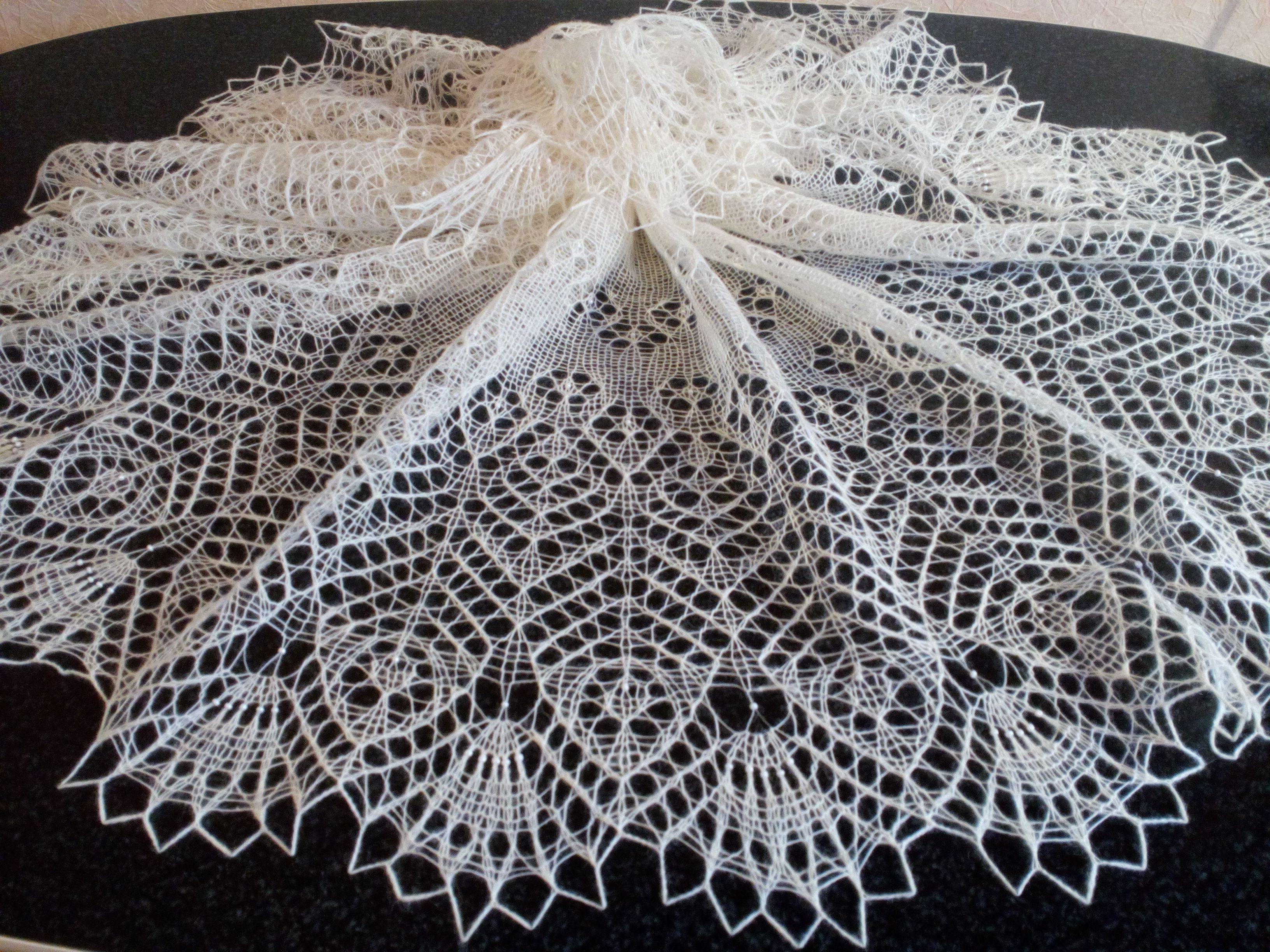купить платок из шаль шерсти подарок