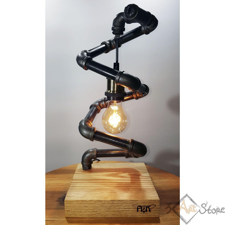 лампадлямужа электролампа лофт лампаэдисона лампаназаказ декор подарок купитьлампу необычнаялампа ручнаяработа лампалофт