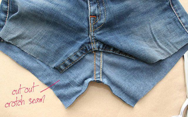 Из старых джинсов своими руками 4