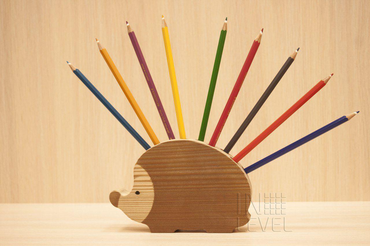 Подставки из дерева для карандашей сделать своими руками