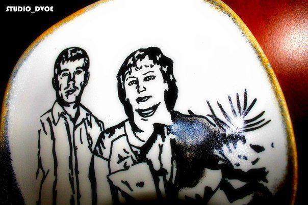 фотографии работы ручной декоративная роспись