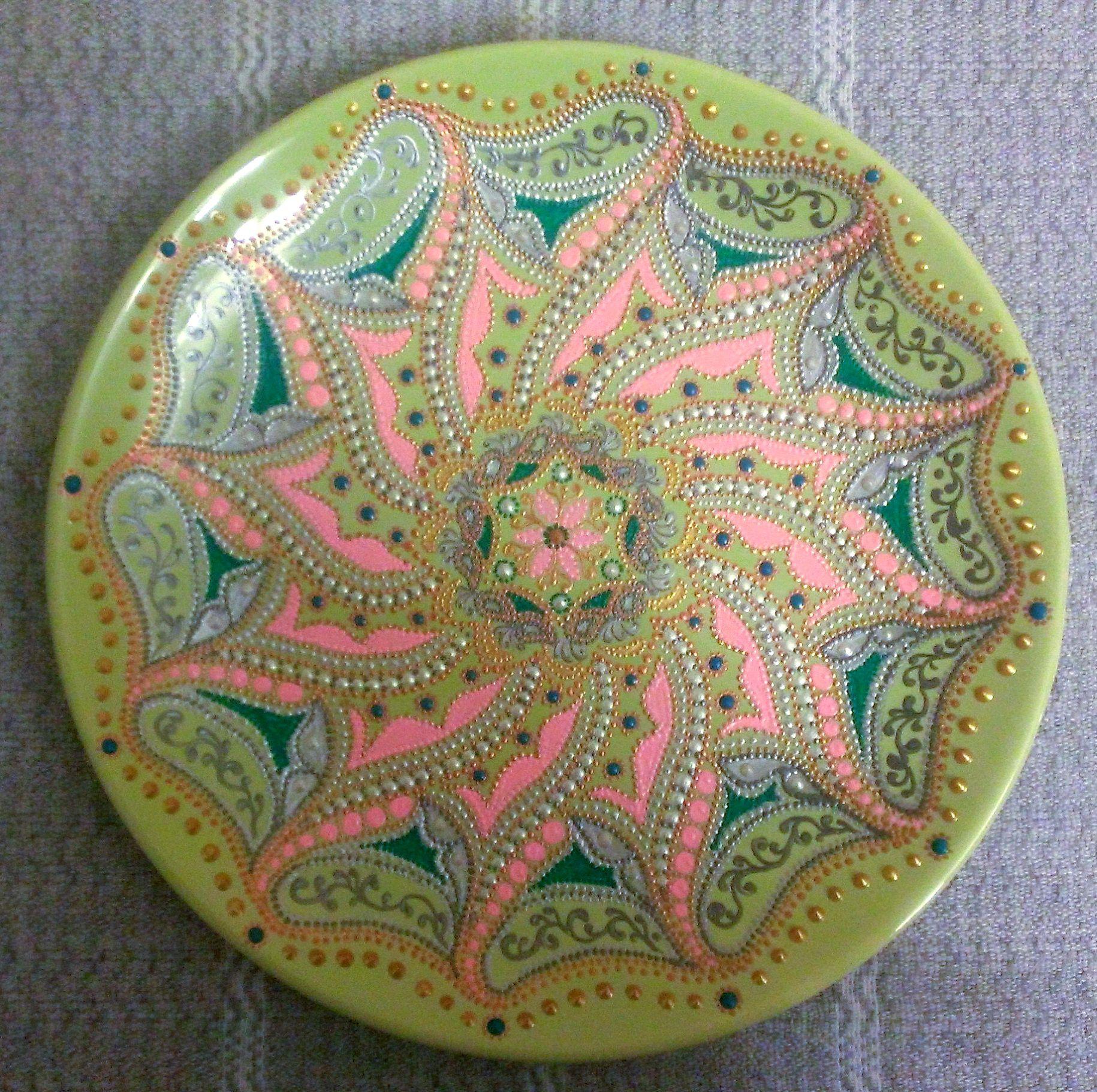 узоры декоративнаятарелка восочныеузоры тарелка точечнаяроспись handmade декор ручнаяработа нежность подарок