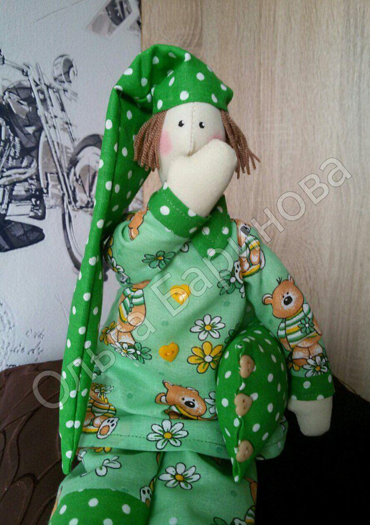 сон тильда рождение праздник ребенок день подушка кукла пижама подарок