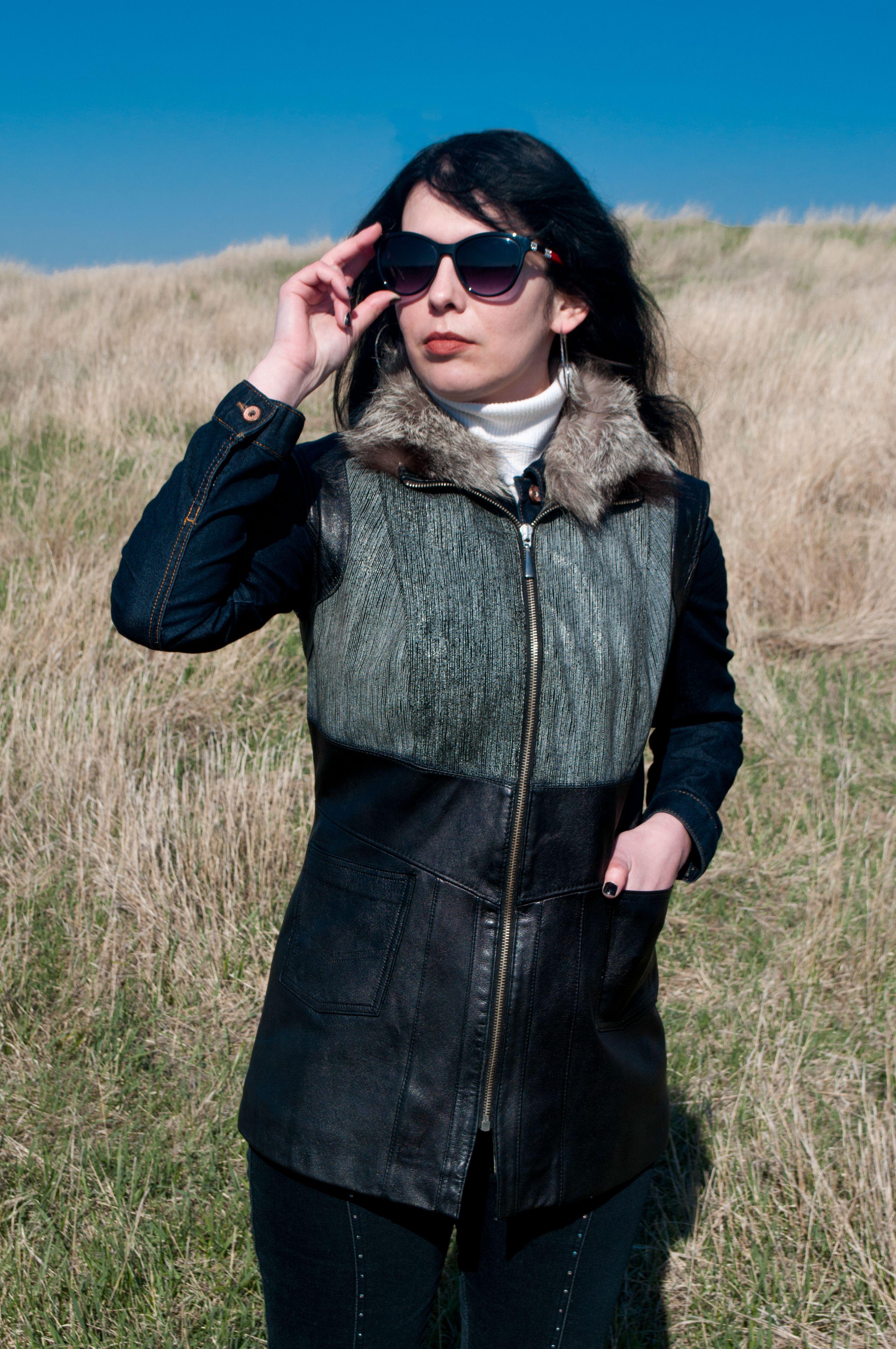 кожаный чернобурка жилеты женский жилет натурального меховой эксклюзивные кожи меха натуральной