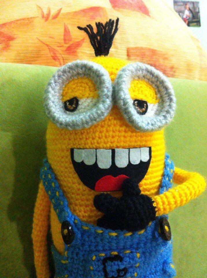 вязание декор миньон игрушка