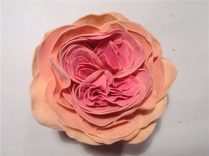 Роза из фоамирана мастер класс 20