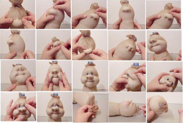 Куклы из колготок мастер класс для начинающих 6