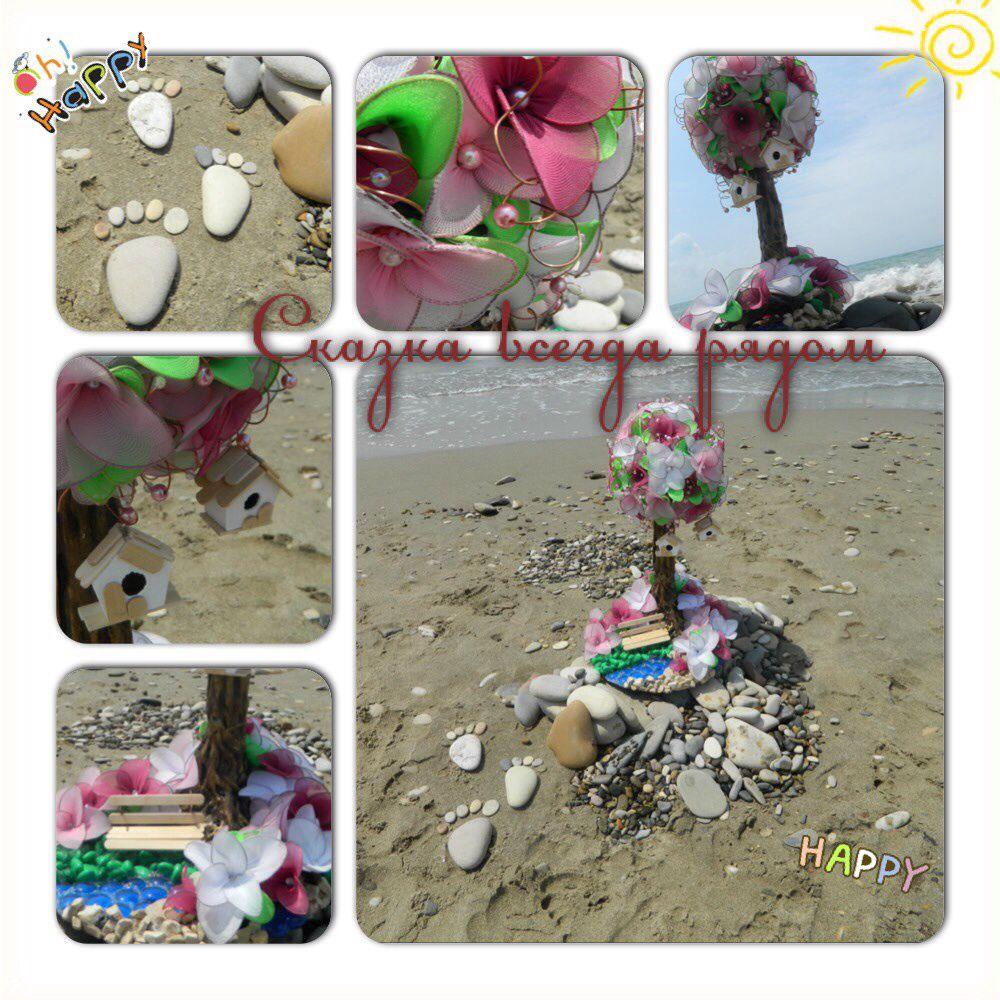 деревце идея вдохновение ночник подарокручнойработы деревосчастья топиарий handmade ручная работа светильник подарок