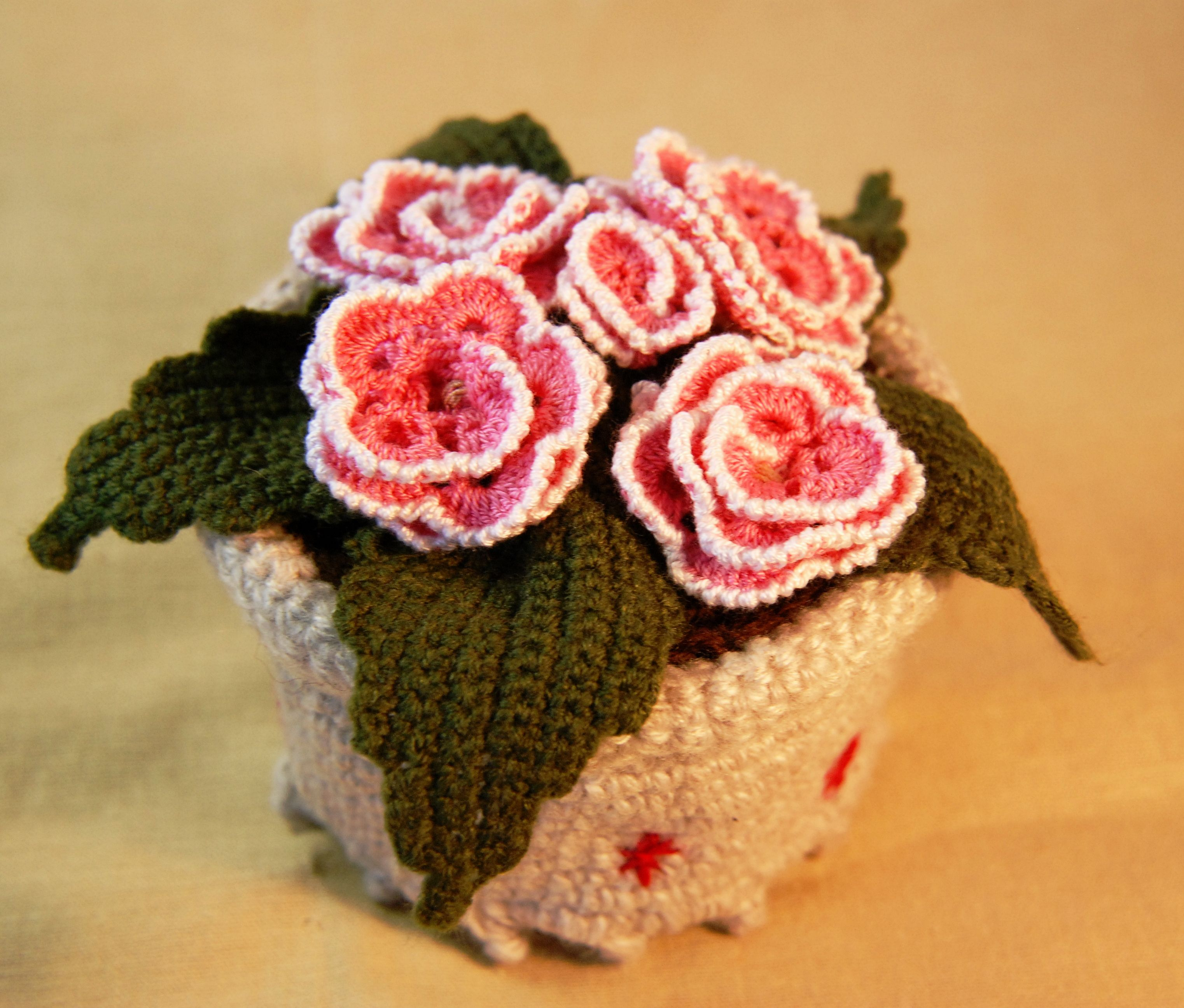 интерьера подарок декор для крючком цветы