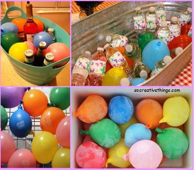 поделки детьми декора с воздушные шарики идеи