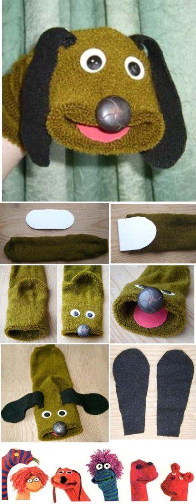 Как сделать театр из носков своими руками