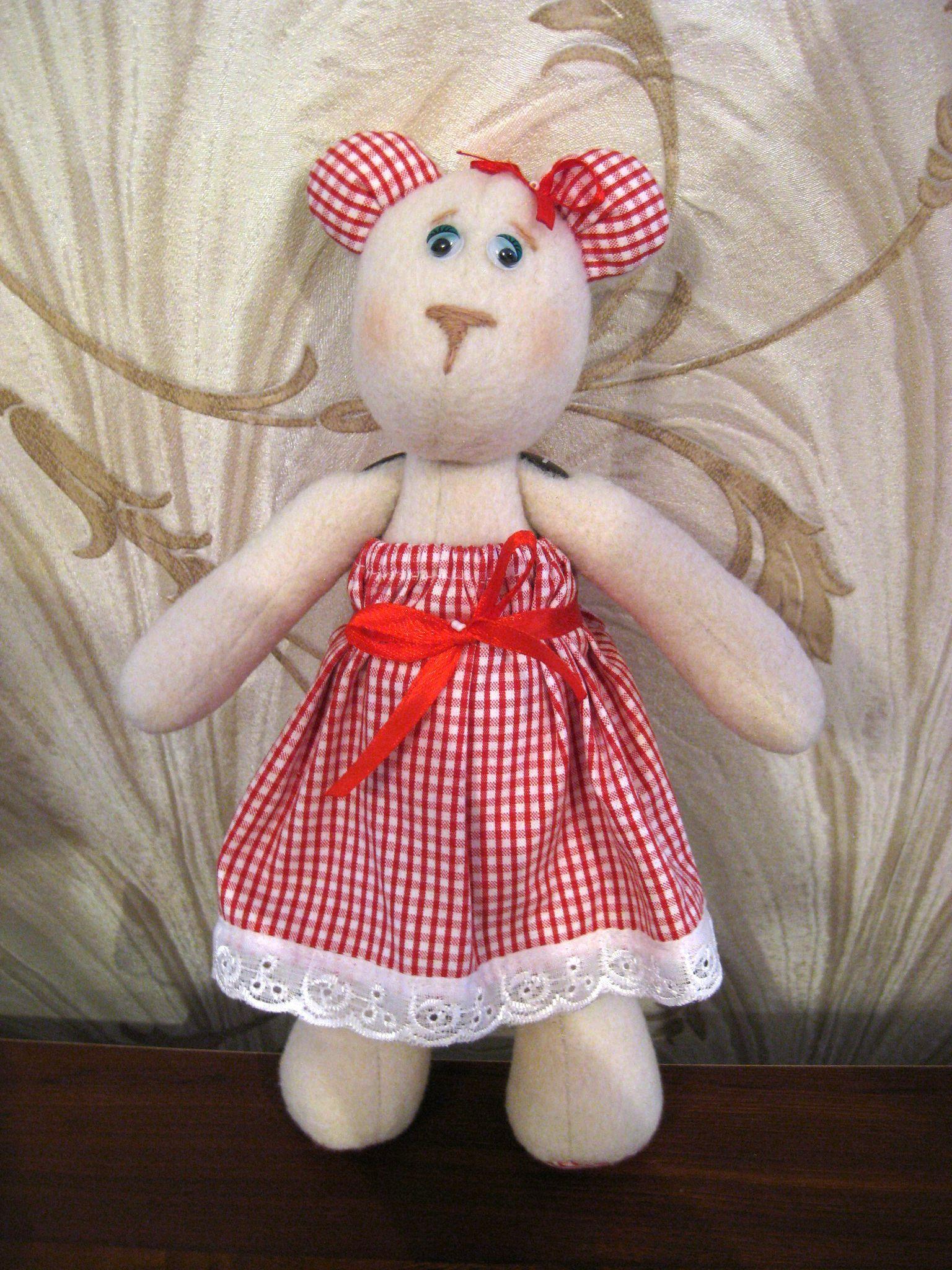 ручнаяработа уникальныйподарок медведь игрушка handmade творчество