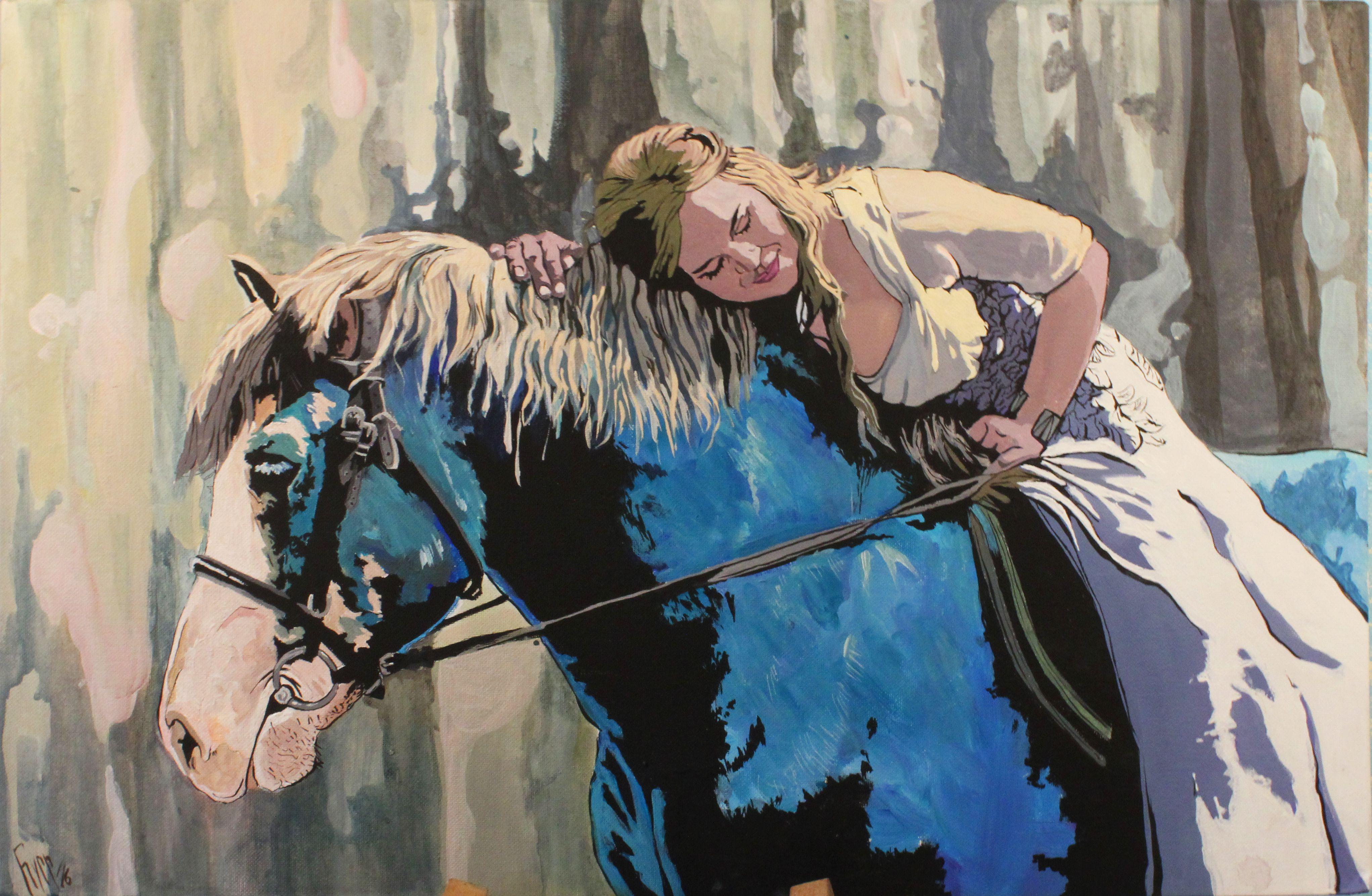 радость свадебный лошади на счастье невеста мечта портрет свадьба