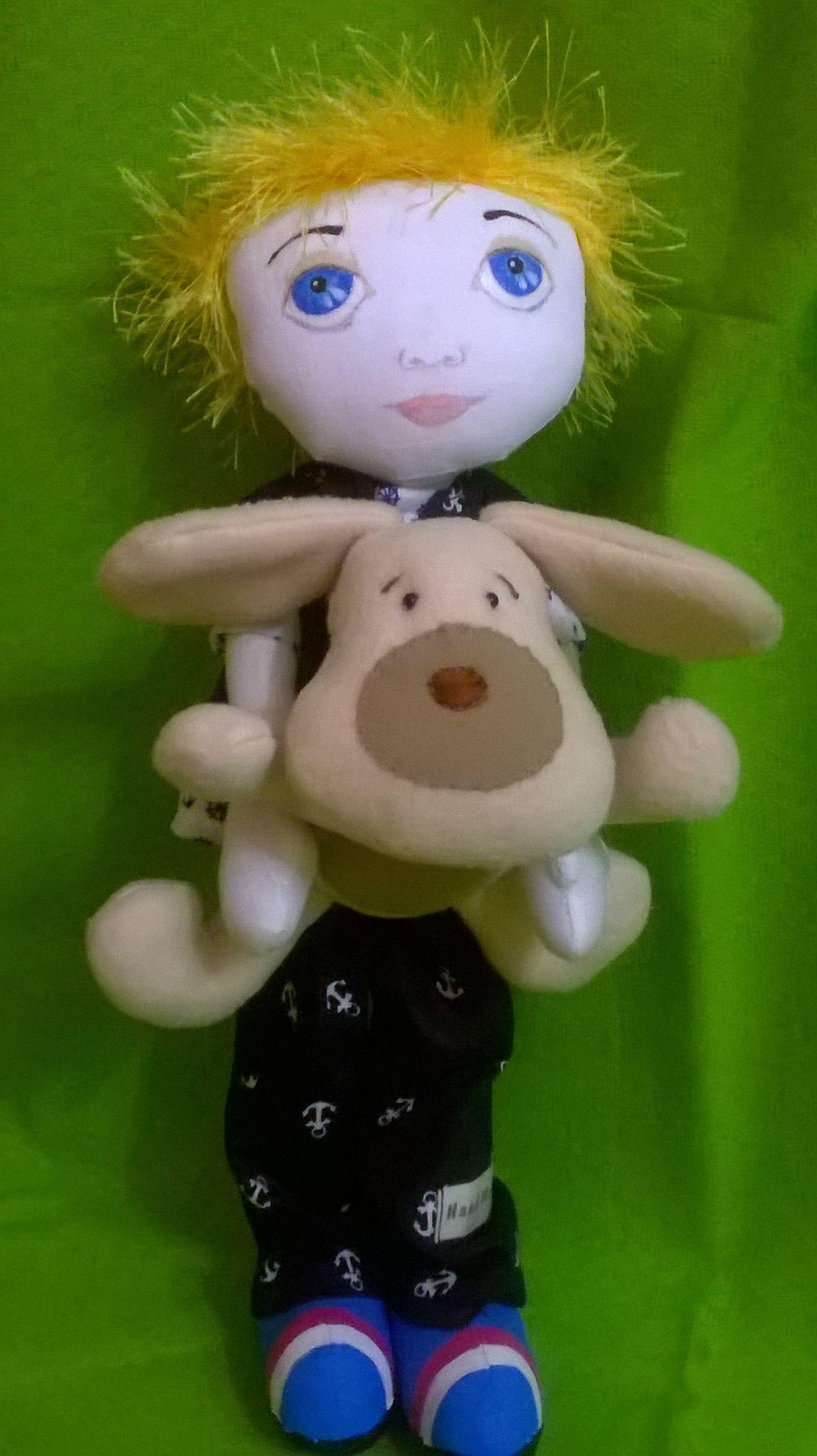 кукла сказочный пэн персонаж ручной работы питер