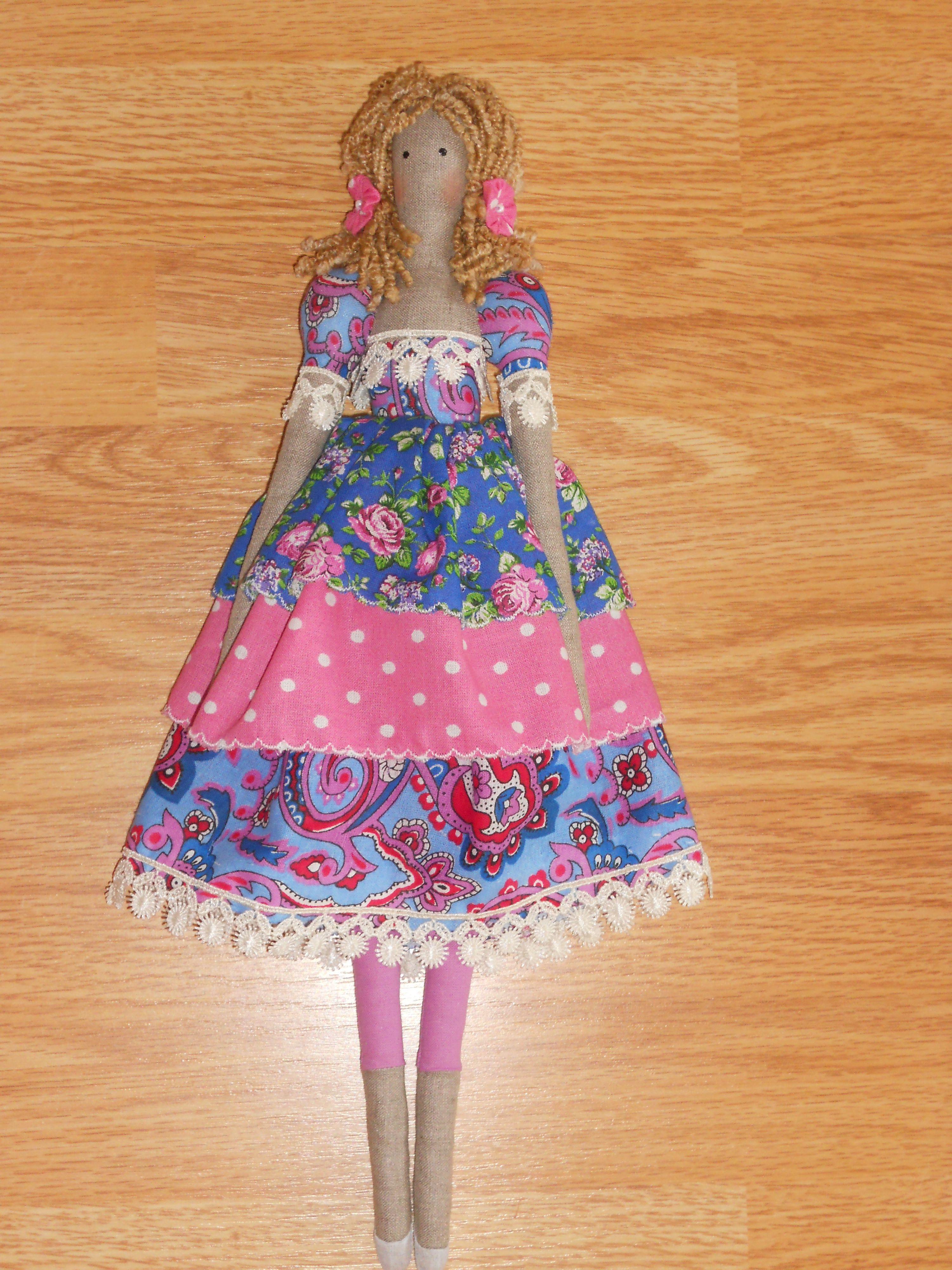 принцесса кукла тильда