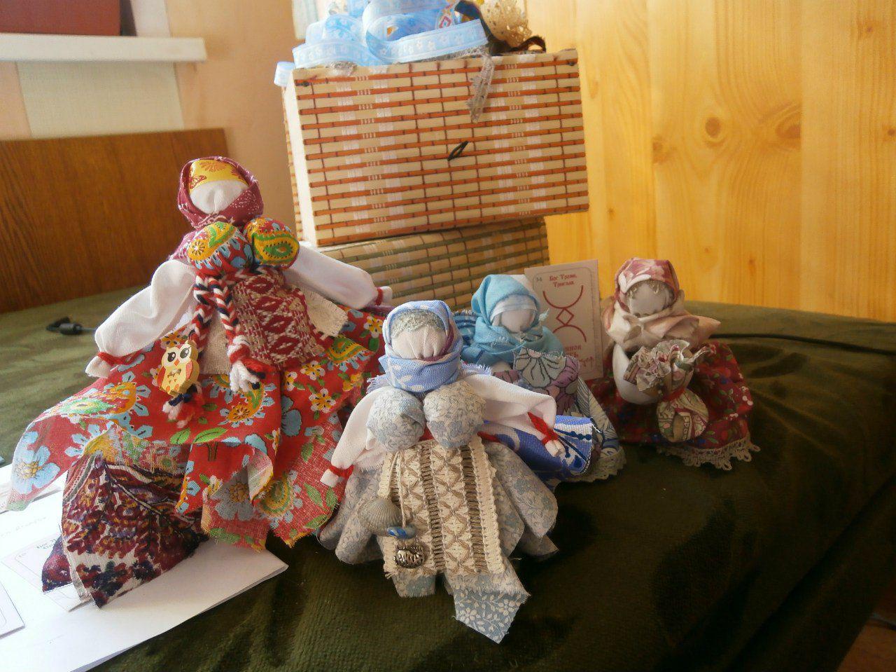 обереги талисманы куклы