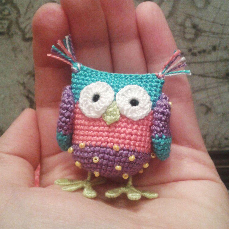 цвета сов милая маленькая красивый люблю мягкая совенок необычный игрушка вязаная вязаный сувенир милый сова разные крючок крючком необычная подарок