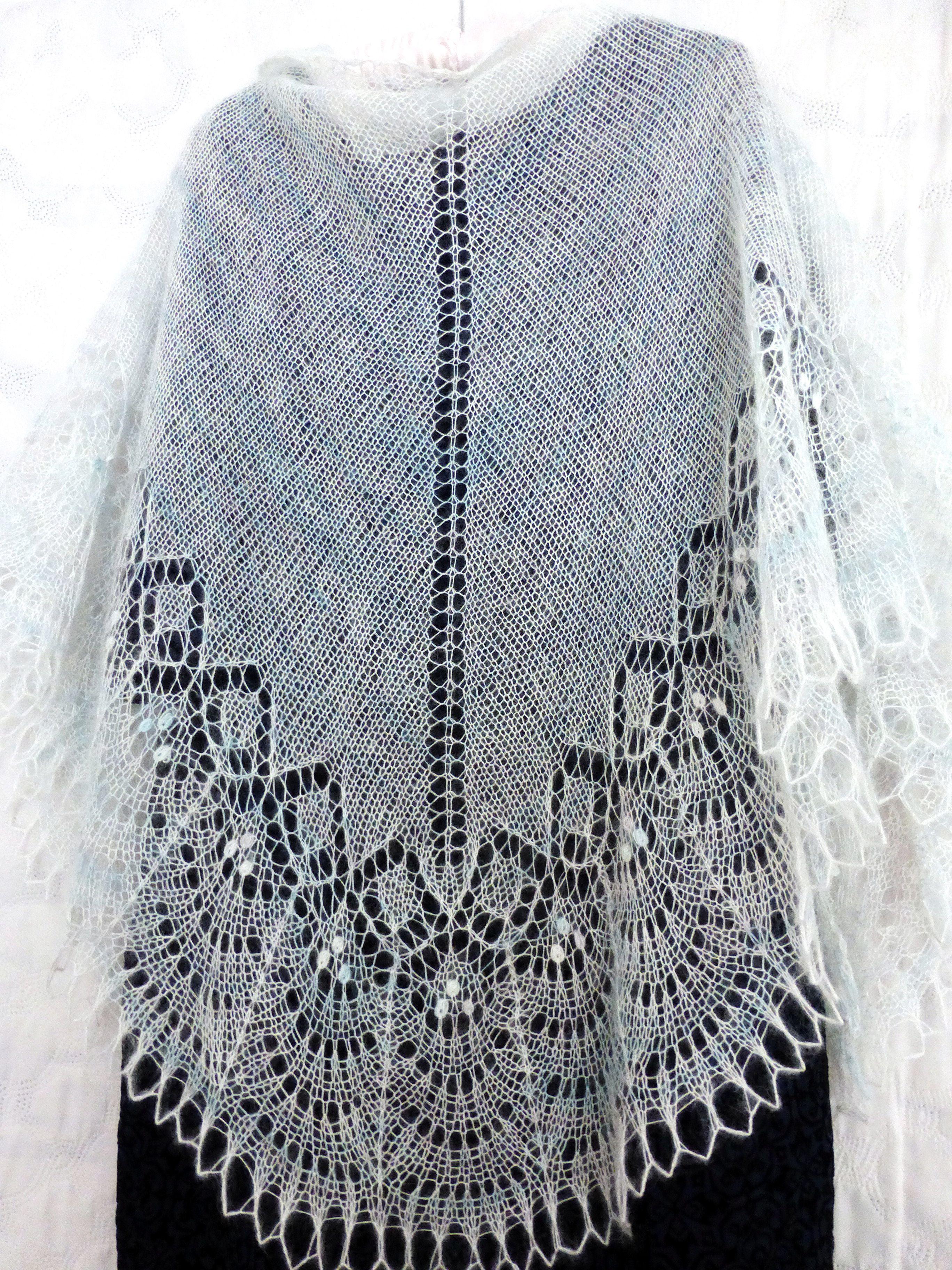 ажурная палантин подарок бохо вязание пуховыйплаток шальажурная шерсть вязаная аксессуар белый шарф шаль ажур свадьба