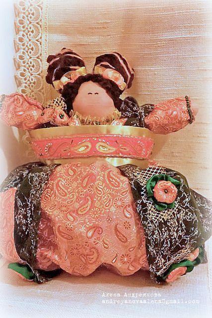пакетница кукла ручная кухня шитье работа подарок