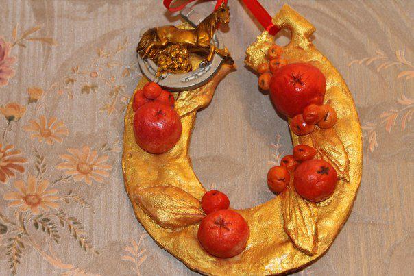 подарок подкова символ талисман амулет хэндмейд handmade