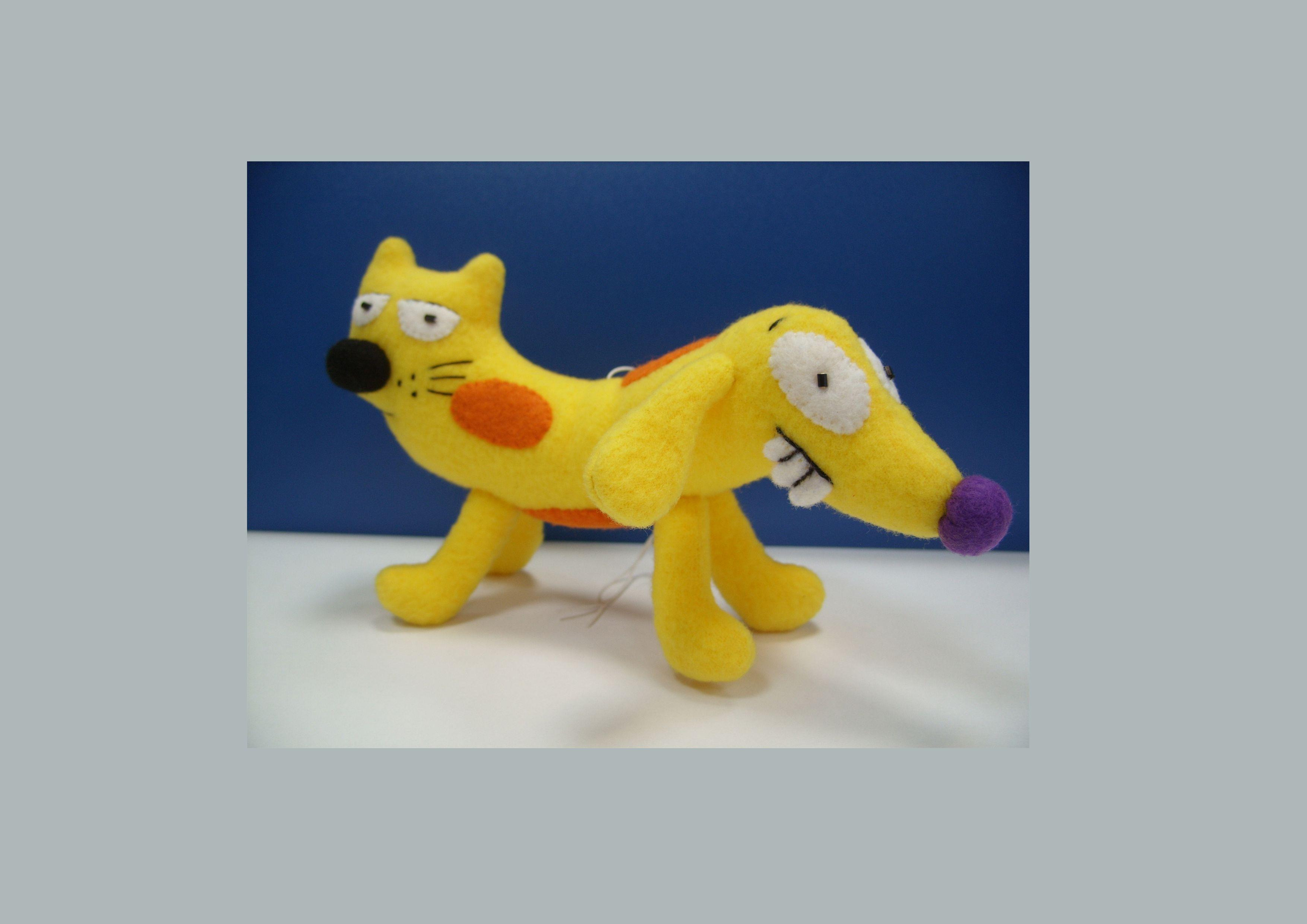 игрушканаавто наприсоске подарок котопес мягкаяигрушка