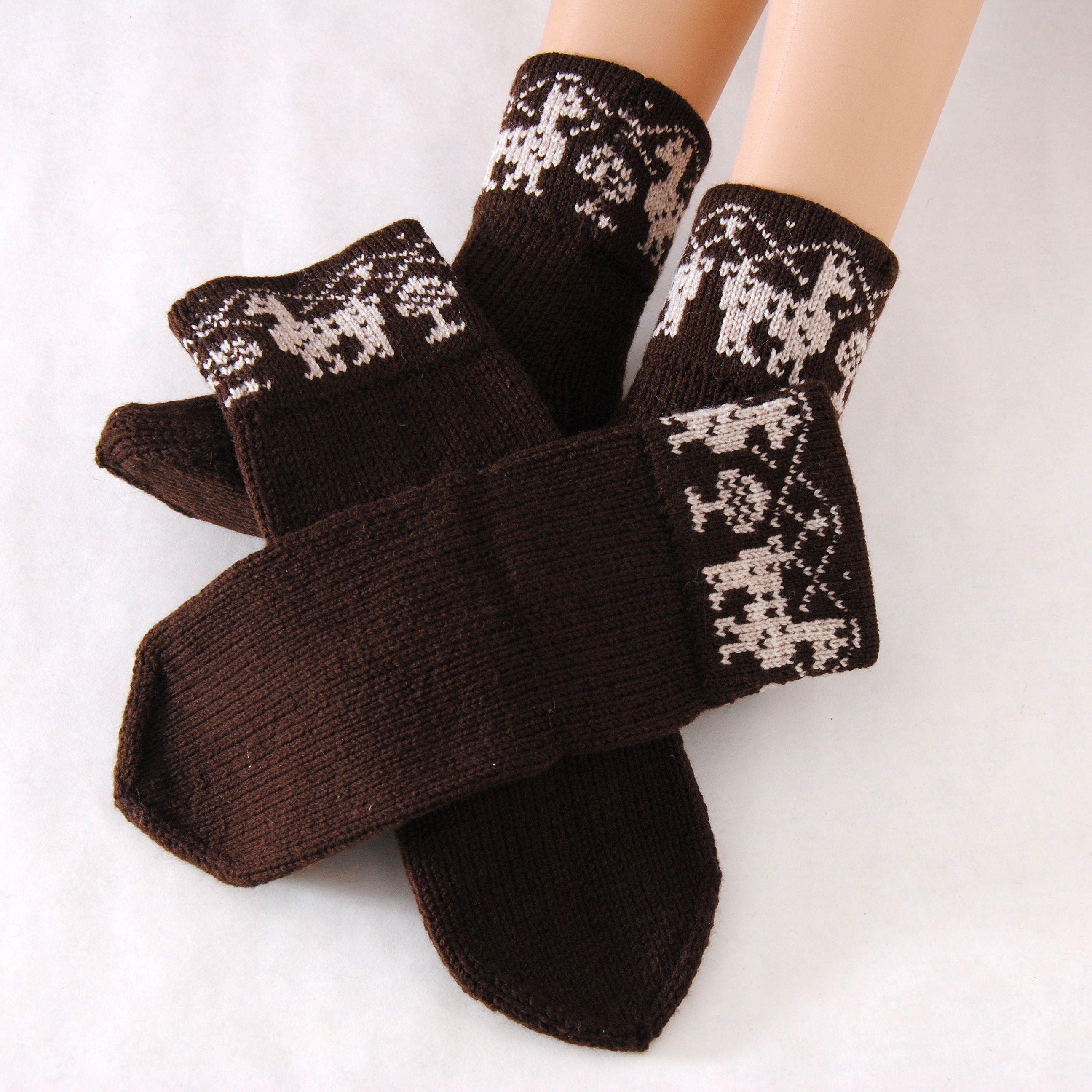 женские мужские шерстяные вязаные купить носки тёплые подарок