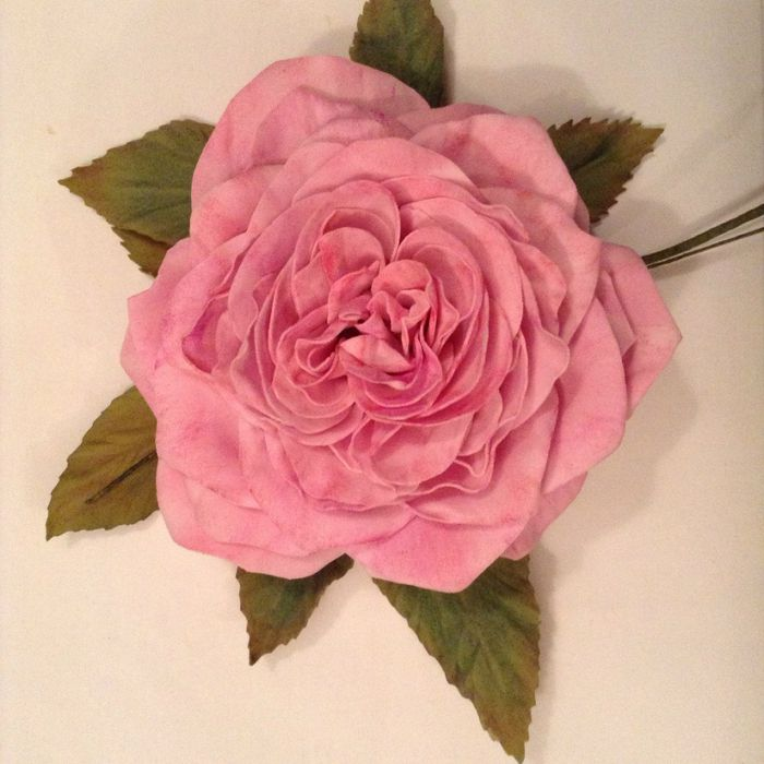 Роза из фоамирана мастер класс 28