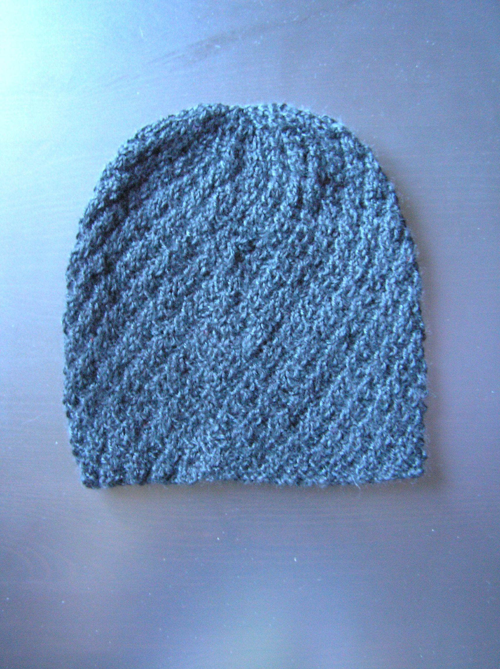 мужская зимняя вязаная шапка женская