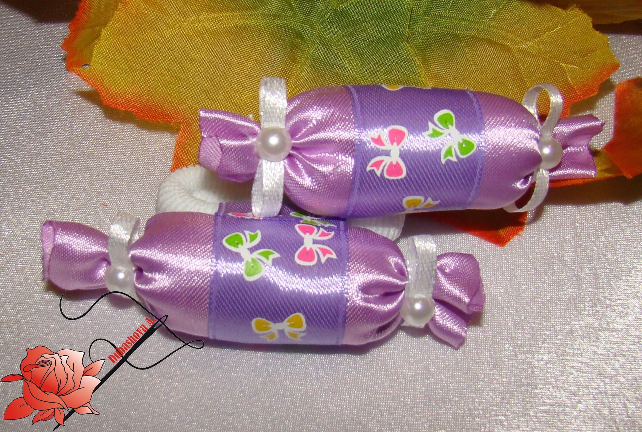 лентыатласные резинкидляволос канзаши handmade дляпринцессы