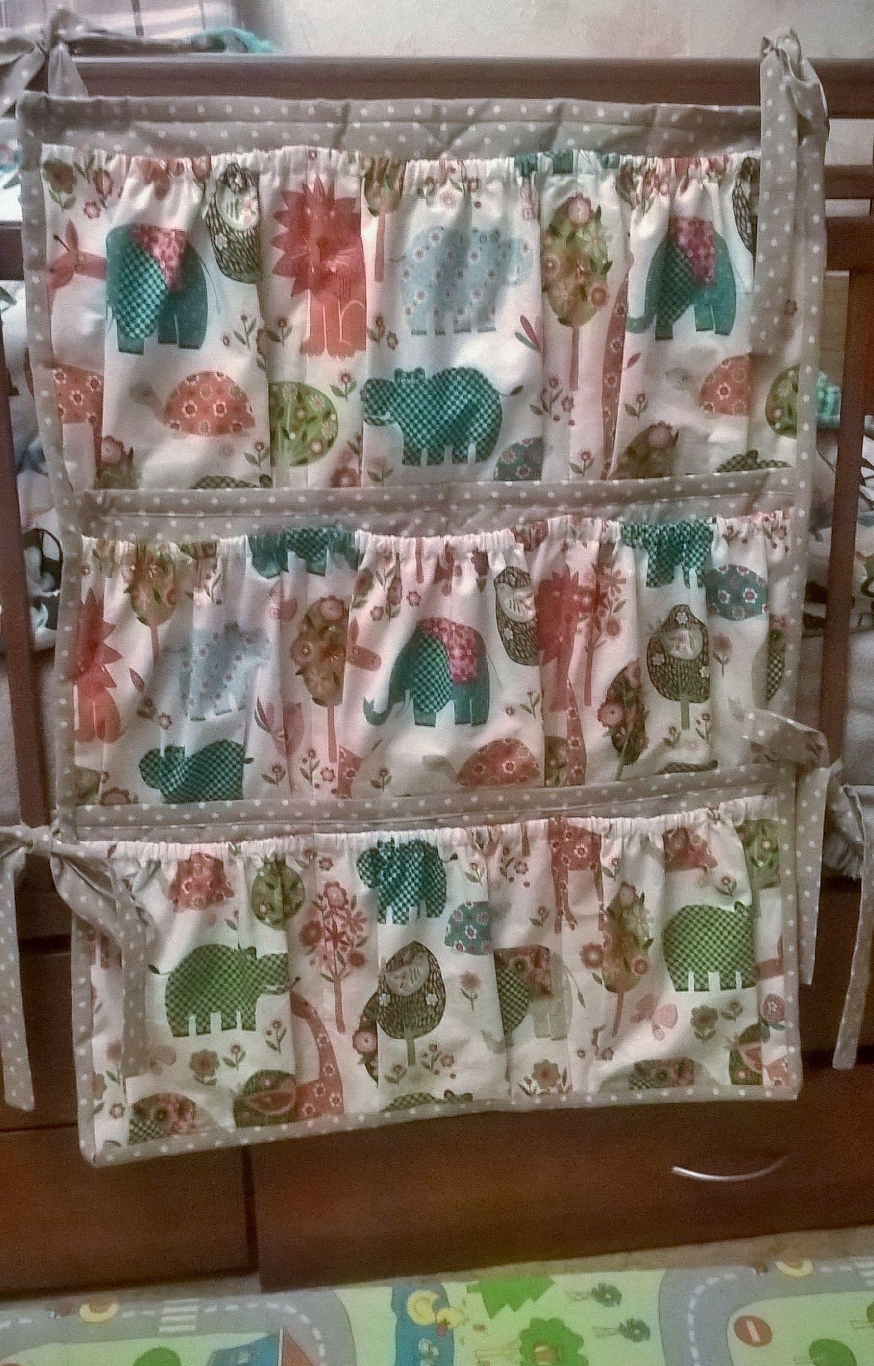 хранение кармашки кроватка детям органайзер