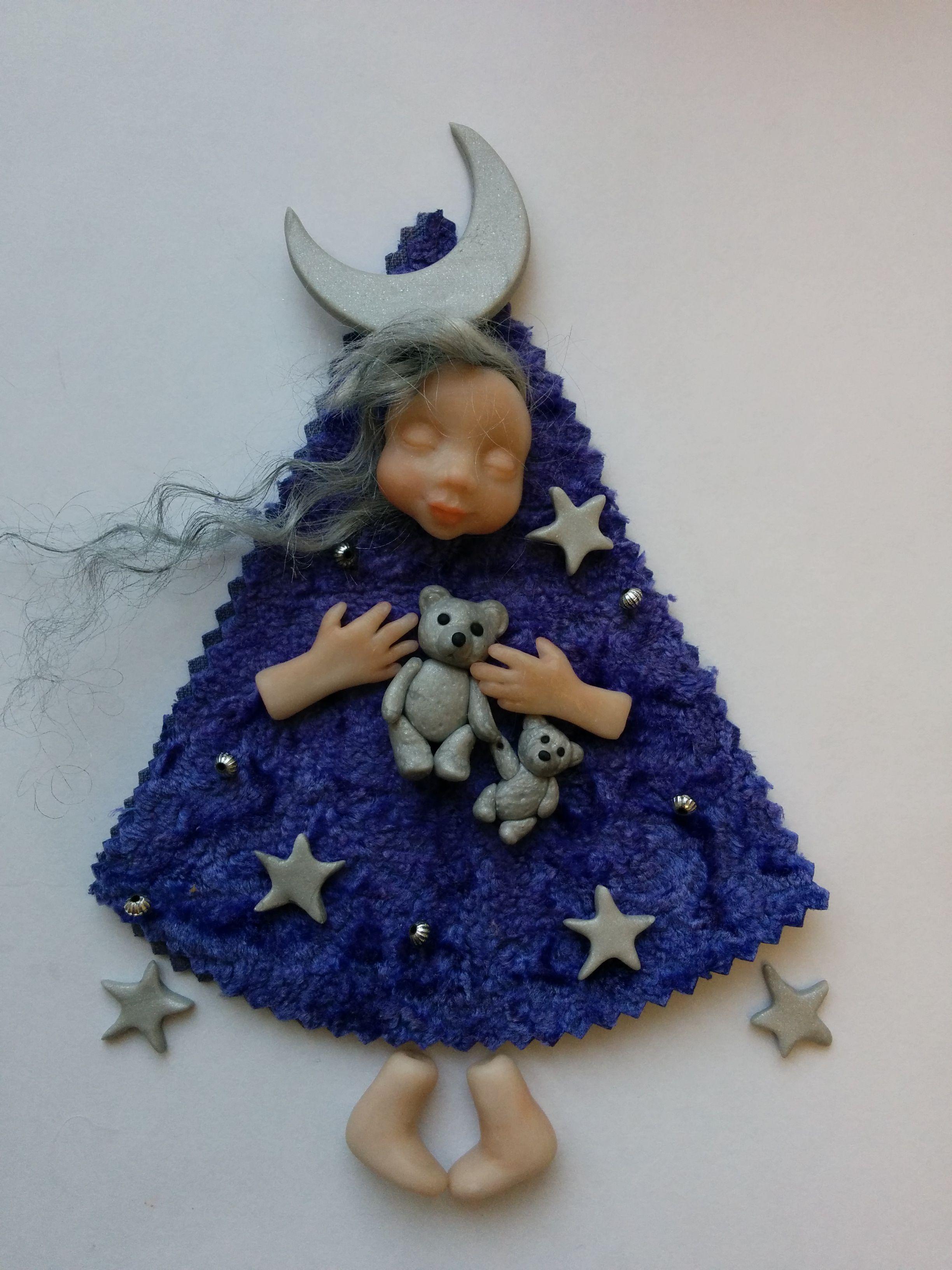 авторскаяработа ручнаяработа подарок кукла оригинальныйподарок эксклюзив куколка звездопад тедди куклыюлииволынской теддидол роскошь куклы кукланазаказ